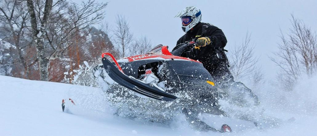 Backcountry Snowmobile Hokkaido