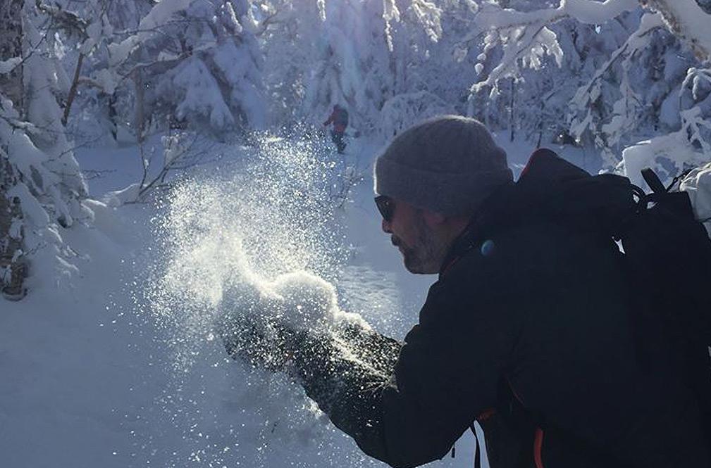 Light dry hokkaido powder